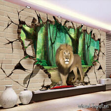 Vließ Fototapete Tapete Wandbild Photo Wallpaper Mural Löwe  11760
