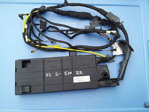 1999-2000-2006 MERCEDES-BENZ W220 S430 S500 TRUNK  LID WIRING HARNESS RETRACTOR