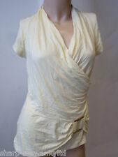 New Look Viscose V Neck Short Sleeve Tops & Shirts for Women
