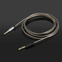 Silver Plated Audio Cable For Klipsch STATUS/MODE M40/Image ONE (II) Headphones