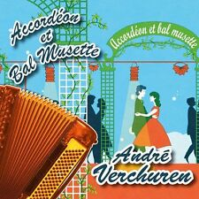 CD Accordéon et bal musette : André Verchuren – Vol. 1