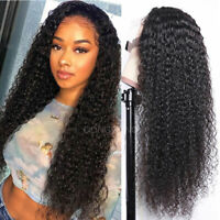 Water Wave Curly 360 Lace Front/Full Lace Wigs 100% Brazilian Human Hair Wig hns