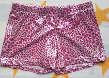 Sbd Sportswear Gymnastics Shorts Animal print foil Child L 9-11 yrs