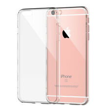 Crystal Clear Transparent Soft TPU Gel Cover case bumper shockproof iPhone 6s 7