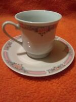 Vintage Made In China Tea Cup And Saucer