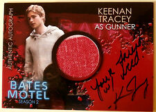"BATES MOTEL - KEENAN TRACEY as Gunner ""Friend w/ weed"" Costume Autograph - CAKT"