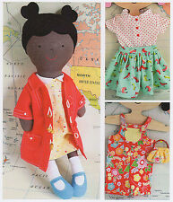 Ginger Rag Doll - Sewing Craft PATTERN - Cloth Dolls Clothes