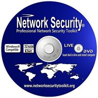 Windows Internet Network Security Toolkit 2020 Live Operating system Boot CD DVD