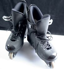 Roces Italy Men's Solid Black Aggressive Inline Skates Rollerblades Size US 12