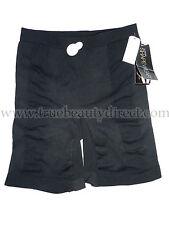 LA SENZA SHAPEWEAR CONTROL BIKE SHORTS PANTS BLACK SMALL 8/10 THIGH TUMMY & REAR