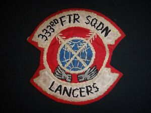 Vietnam War Hand Made Patch US 333rd Tactical Fighter Squadron LANCERS