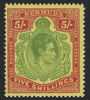 Bermuda - Scott # 125 - Mint Hinged                                     (H-1000)