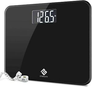 Black Etekcity High Precision Digital Body Weight Bathroom Scale.