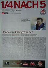 Programm Info 2002/03 FC St. Pauli - MSV Duisburg
