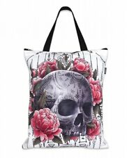 Liquor Brand Sak Yant Skull Traditional Tattoos Goth Punk Tote Bag LB-ABTO-19005