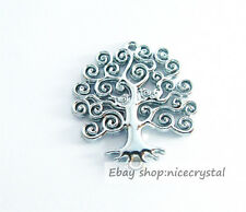10pcs Life Tree Pendant Charms Fit Necklace & Bracelet DIY Charms