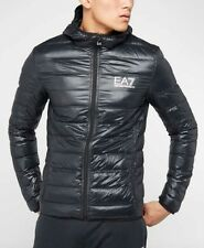 Emporio Armani EA7 Core Logo Quilted Down Hooded Jacket. RRP £150.