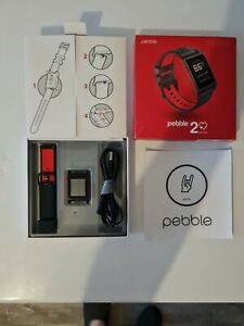 Pebble 2 Smartwatch with Heart Rate Monitor