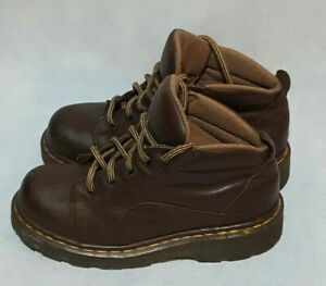 Dr Martens Airwair Brown 8444 Made in England Women's 5 Ankle Boots