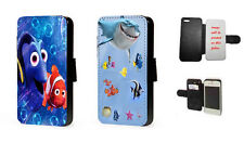 Finding Nemo Inspired leather wallet phone case for Samsung Iphone Samsung HTC