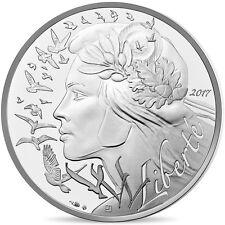 [#480613] France, Monnaie de Paris, 20 Euro, Marianne, 2017, FDC, Argent