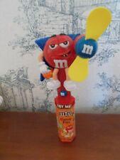 M&M Candy Dispenser Halloween Dracula Jack o Lantern Fan