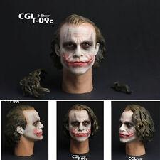 CGL T-09C 1/6 Scale Batman Joker Headplay Heath Ledger Head Sculpt