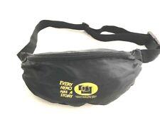 Fanny Pack Fast Track Belt Bag Black Pack Waist Pouch Running Cross Body Nylon