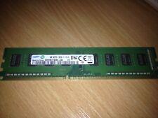 4 GB (1x4GB) Samsung 1Rx8 PC3 12800U 1600 MHz DDR3 PC Desktop RAM Memory