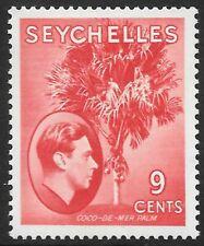 SEYCHELLES 1938 9c scarlet, FM hinged. SG 138.