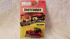 MATCHBOX # 64 ACTION SYSTEM RED BULLDOZER MB64-D34 NEW