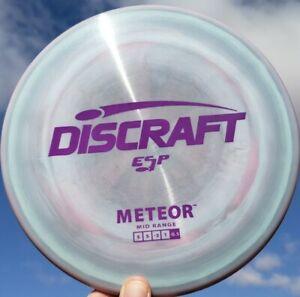 New Discraft ESP METEOR 179g Swirly Multi-color Matte Purple