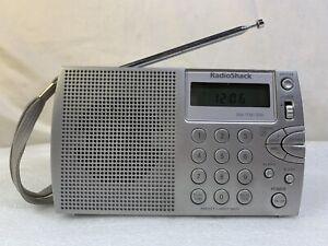 Rare Portable Short Wave Travel Radio Radio Shack 2000125 Receiver AM FM SW