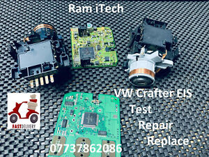 VW Crafter EIS Ignition barrel swich Test Repair Replace