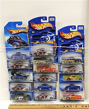 16 Hot Wheels Vintage 1941 Willys Coupe Custom Diecast Car Mattel 1998 -2008 NOC