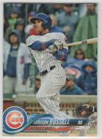 2018 Topps Chicago Cubs Complete Team Set Series 1 2 and Update 38 cards