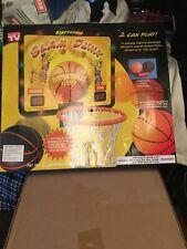 Basketball Hoop Set - Over The Door! Keeps Score! Crowd Noise!