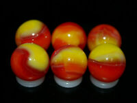SIX PACK  Jabo Classic Marbles Collector Set HTF Marble Lot KEEPER Lot 222