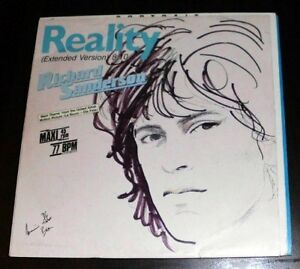 "Richard Sanderson Reality (1980/87) [Maxi 12""]"