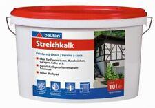 Baufan Streichkalk 10 L Kalkfarbe Mineralfarbe Sumpfkalk Très Respirant