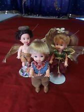 """Barbie Miniature Dolls Mattel Circa 1994 4.5"""" Tall"""