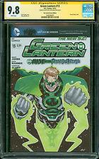 Green Lantern 13 CGC SS 9.8 Blank Sketch Cover Parallax by Jose Jaro NM