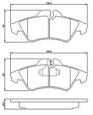 Mercedes Benz Sprinter 4-T 1996-2006 904 Vetech Front Brake Pad Set