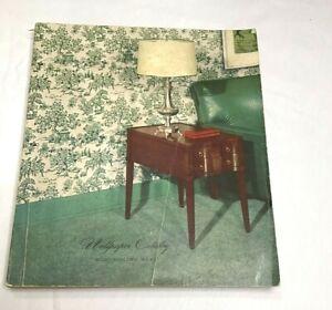 Vintage Montgomery Ward Wallpaper Catalog Booklet Book Copyright 1951