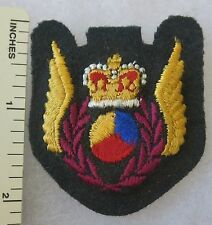 Post WW2 1970s ROYAL CANADIAN AIR FORCE RCAF HELICOPTER OBSERVOR WINGS PATCH