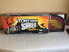 New In Box 2010 PS3 Tony Hawk Shred Game And Wireless Controller Activision
