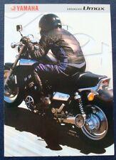 YAMAHA VMX1200 VMAX MOTORCYCLE Sales Brochure c2001 #3MC-0107006-01E