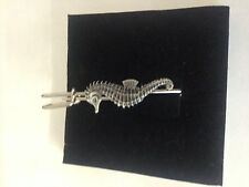 "Seahorse R36 Pewter Emblem Kilt Pin Scarf or Brooch 3"" 7.5 cm"