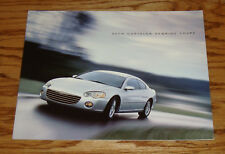 Original 2004 Chrysler Sebring Coupe Sales Brochure 04