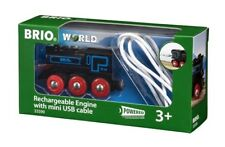 33599 Brio Rechargeable Engine with mini USB cable